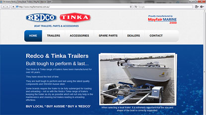 Mayfair Marine website